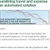 Concur Travel &Expense Spend email